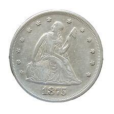 1875 twenty cent piece - Philadelphia mint - VF