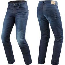 Pantaloni blu per motociclista Uomo Taglia 36