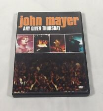 John Mayer - Any Given Thursday (DVD, 2003)