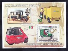 More details for comoro is 2008 michel 431/6 6 blocks means of transport unmounted mint c90 euros