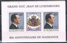 Luxemburg postfris 1981 MNH block 13 - Grand - Duc Jean (S0156)