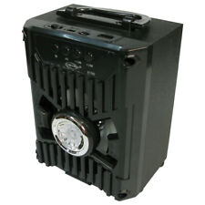 Portable Blue Tooth box Speaker with rechargeable battery - Black