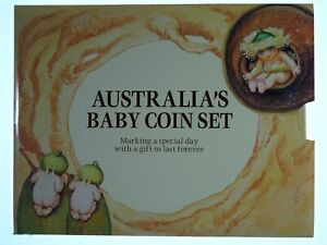 1994 Royal Australian Mint Gumnut Baby Uncirculated Coin Set