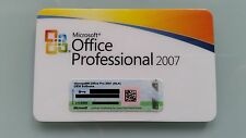 Office 2007 Professional MLK v2 versión completa pro inglés English con Access MUI