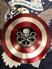 CAPITAN AMERICA ESCUDO Hydra Aluminio Escala 1/1,  cosplay metal Shield 2018