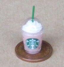1:12 contenitore in plastica take away Drink casa delle bambole miniatura Cafe Pub accessorio P