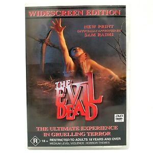The Evil Dead (DVD, 2002) Widescreen Edition with Bonus The Evil Dead Journal