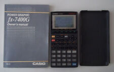 Casio fx-7400G Power Graphic (Table and Graph) with Alpha Lock Manual/Case