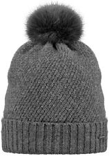 2017 NEW BARTS ADULT BEANIE AMARANTH HAT DARK HEATHER KNIT POM LADY WOMEN'S