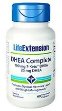 2X $26.99 Life Extension DHEA Complete 100 mg 7-Keto + 25 mg DHEA weight control