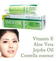 SMOOTH E CREAM ANTI AGING WRINKLES VITAMIN E ALOE VERA SCARS ACNE SPOT MARK