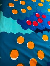 NEW Marimekko Fabric Max ja Moritz Blue turquoise