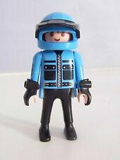 PLAYMOBIL (X342) FORET - Homme Pilote de la Moto Tout Terrain 3222