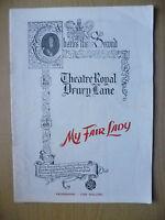 Theatre Royal,Drury Lane-Anne Rogers, Alec Clunes, James Hayter in MY FAIR LADY