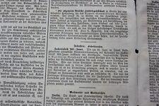 1872 Zeitung  83 / Zuckerfabrik Alt jauer / Czarnikau Lubasz Debe
