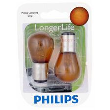 Philips Long Life Mini Amber Light Bulb 2057NALLB2 for 2057 2057NALL S-8 tn
