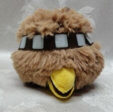 Angry Birds Star Wars Chewbacca Plush Stuffed Rovio 2012 EUC Lucas Films 5""
