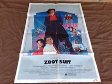 1981 Zoot Suit Original Movie House Full Sheet Poster