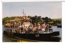 Postcard: Western Belle Pleasure Cruiser on the River Dart, Devon