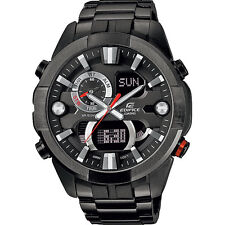 Casio Men's 47mm Edifice Racing Chronograph Watch - Black/red