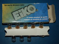 Pack of 8 Eiko 757 Quality Miniature Lamp Bulbs