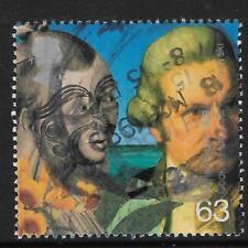 GB 1999 Millennium MAORI & CAPTAIN JAMES COOK Single Stamp USED (No 2)