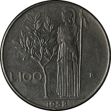 1958 - Italy 100 Lire KM-96 Great Deals The Executive Coin Company - BBWC3346