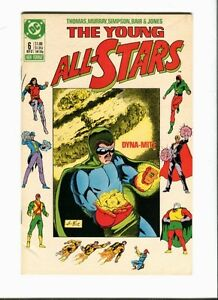 Young All-Stars 6 . DC 1987 - VF - minus