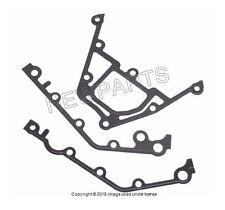 For BMW E53 E52 E39 E38 E34 E32 E31 Lower Gasket Set Timing Chain Case Cover