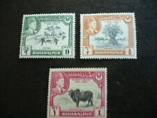 Stamps - Pakistan - Bahawalpur - Scott# 23-25