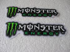Aufkleber 2er Set Sticker Energy Motorradsport Autotuning Motorcross Biker