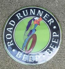 "12""  BEEP BEEP ROAD RUNNER METAL SIGN. Great addition to any Place. NEW"
