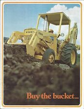 Equipment Brochure - Ford - Tractor & Compact Loaders Foldout - c1975 (E3690)