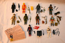 Vintage GI Joe 1984 Figures Lot w/ cards - complete! Baroness Storm Shadow
