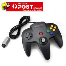 Black Classic Game Controller Gamepad Joystick for Nintendo 64 N64 AU