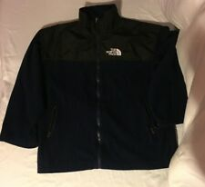MENS THE NORTH FACE GORE-TEX EXTRA LARGE BLUE BLACK WIND STOPPER NYLON JACKET