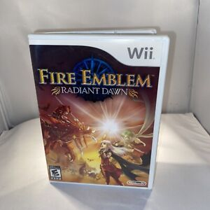 Fire Emblem: Radiant Dawn (Wii, 2007) Disc and Case