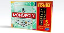 New Monopoly Golden Token Bonus Limited Edition Set -  Mint -  Factory Sealed