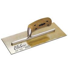 """Kraft 13"""" x 5"""" Elite Series Five Star Plastering Trowel Golden SS Cork Handle"""