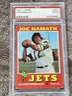 💥1971 Topps FB #250 Joe Namath PSA 5 NEW YORK JETS  (HOF)