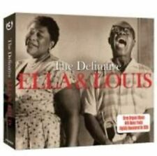 The Definitive - Ella & Louis (3CD) [SAME DAY DISPATCH * NEW SEALED]