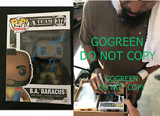 Mr. T signed funko BA Barracus DWTS exact photo proof A team Rocky Clubber Lang