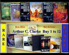 Arthur C. Clark, Science Fiction, Firsts  (Buy 1 to 15)