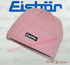 Original Eisbär Mützen TROP mit Fleece rosa Eisbärmütze + Handwärmflasche GRATIS