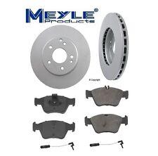 2-Meyle GEOMET®Anti Rust Coated Front Brake Kit C230 C280 E300 SLK230