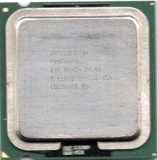 INTEL Double coeur D805 2666Mhz, 2Mb, bus 533, socket 775