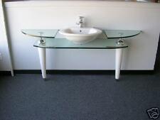Glass Vanitie with CounterWare Sink