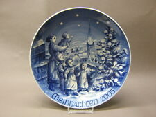 Bareuther Weihnachtsteller / christmas plate 2005