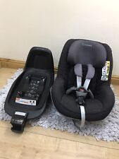 Maxi Cosi iSize 2way Pearl Car seat & 2way Fox Base/ Group1 Car seat, Next Stage