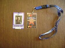*Nsync Tour Passes (2000 Backstage Pass, 2001 PopOdyssey Tour Badge)